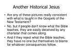 another historical jesus24