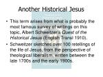 another historical jesus7