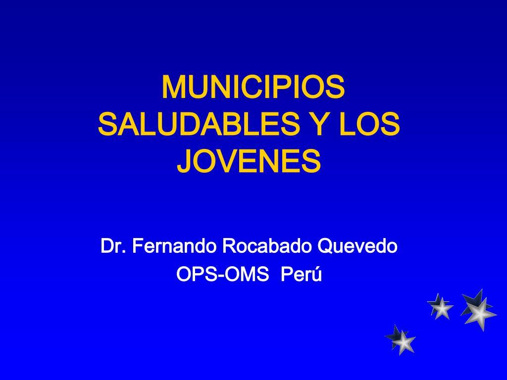 municipios saludables y los jovenes l.