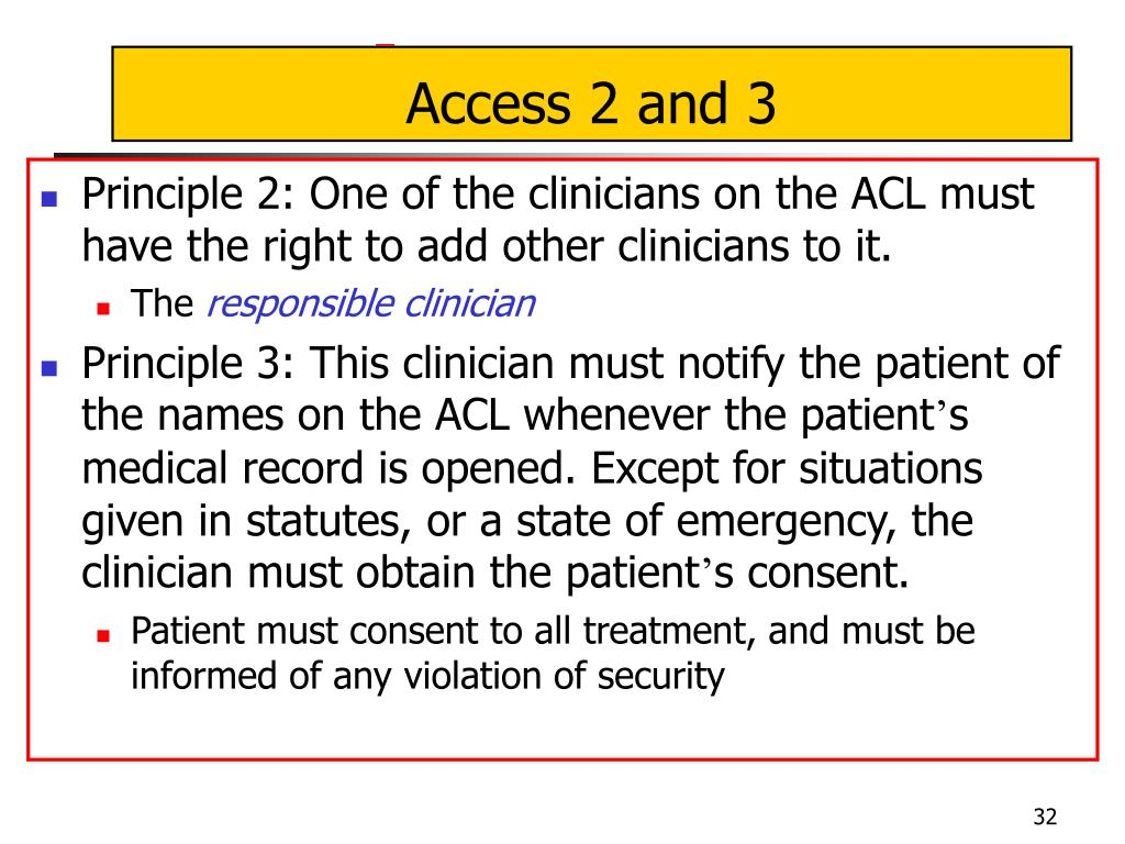 Access 2 and 3