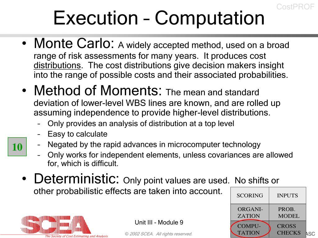 Execution – Computation