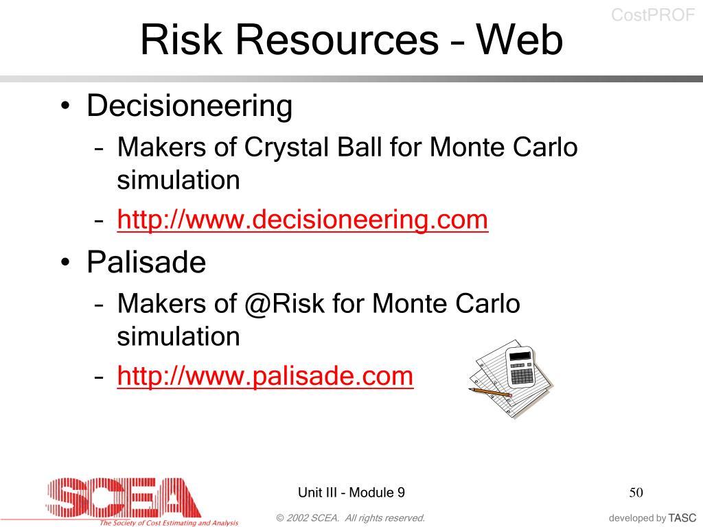 Risk Resources – Web