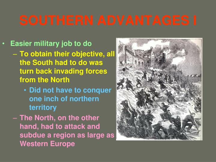 Southern advantages i