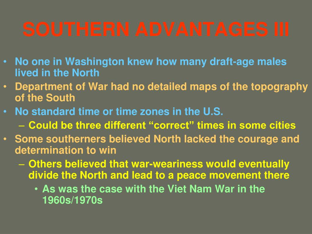 SOUTHERN ADVANTAGES III