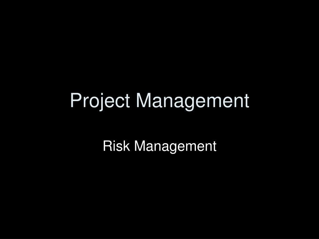 project management l.