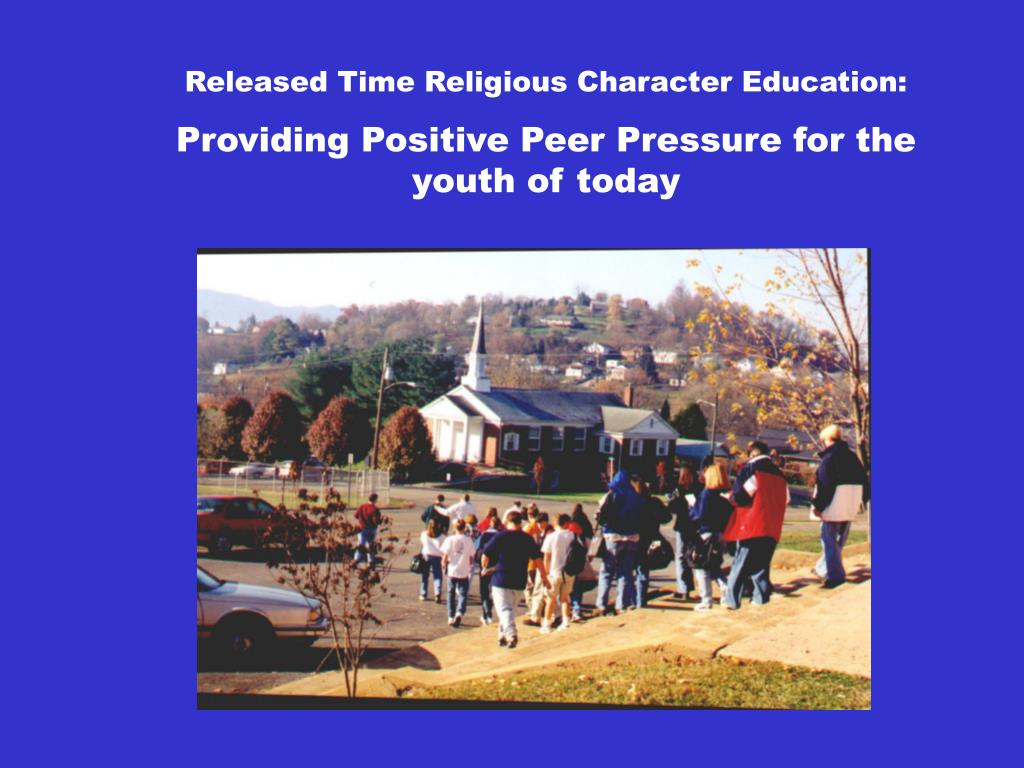 Released Time Religious Character Education: