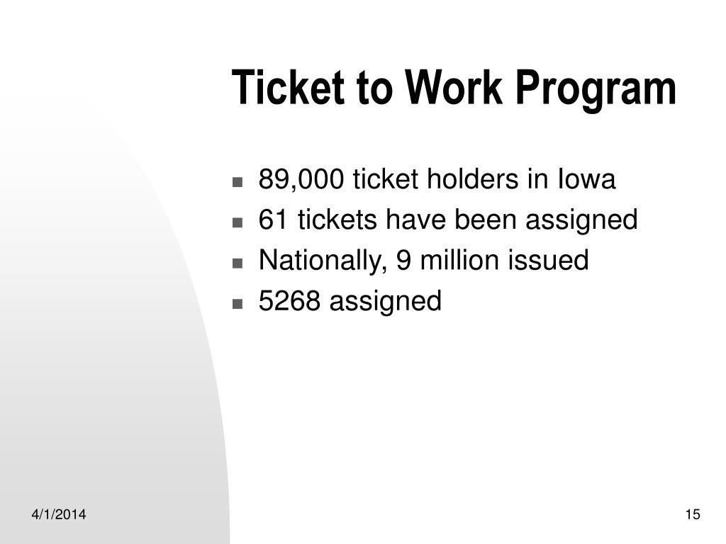 Ticket to Work Program