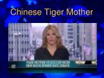 chinese tiger mother