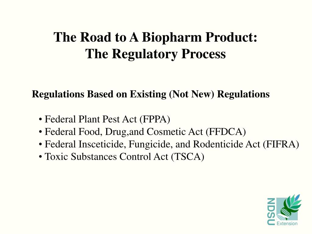 The Road to A Biopharm Product: