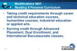 modifications not needing a personal curriculum24