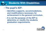 students with disabilities42