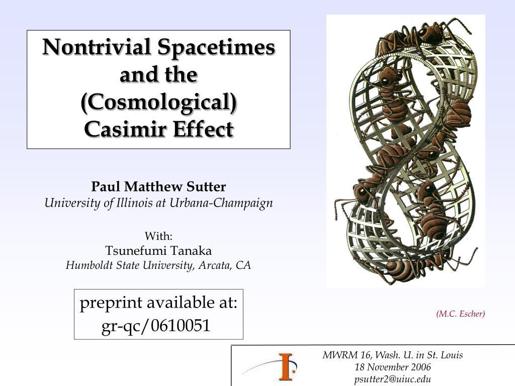 Nontrivial Spacetimes