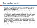recharging con t