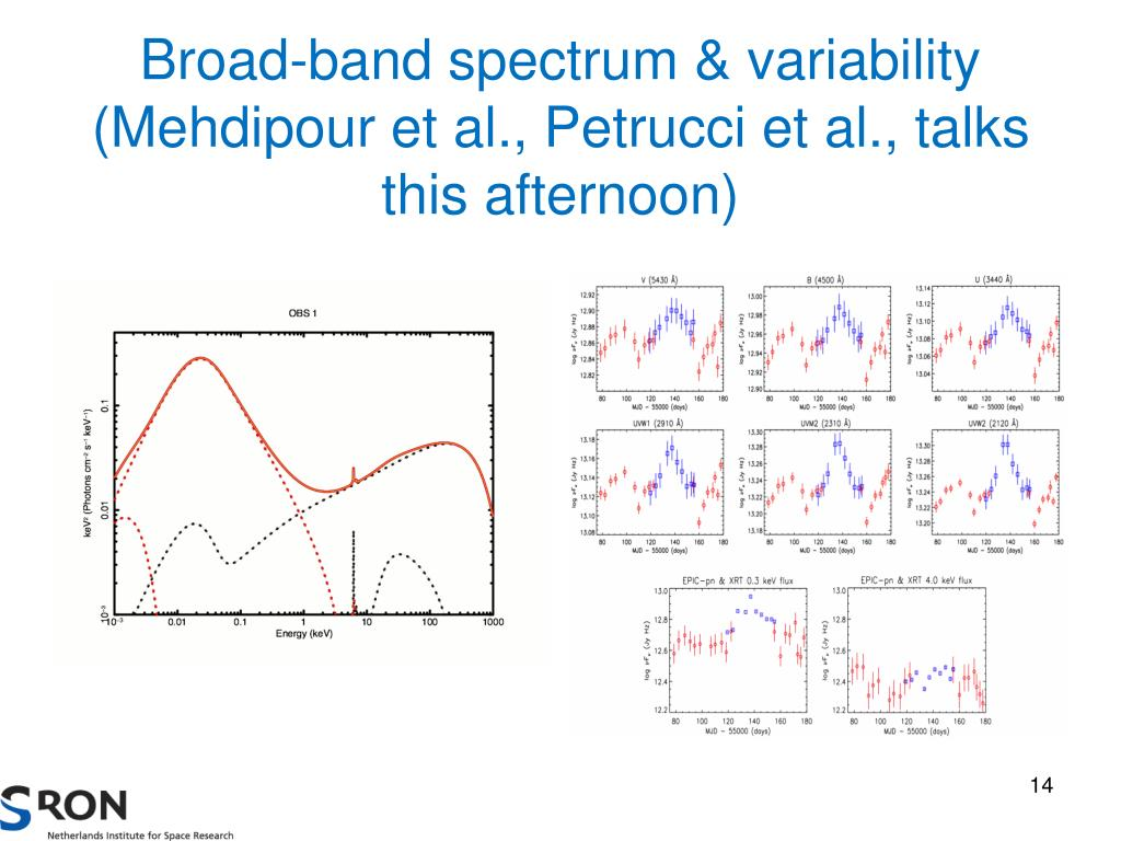Broad-band spectrum & variability