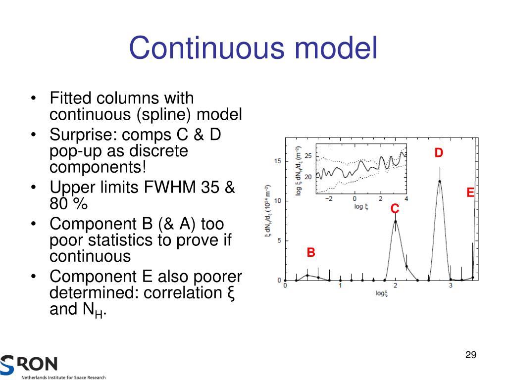 Continuous model