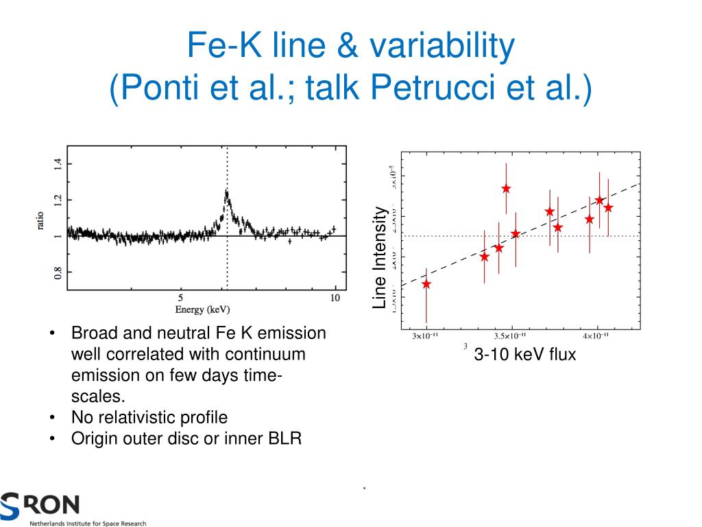 Fe-K line & variability