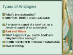 types of analogies6