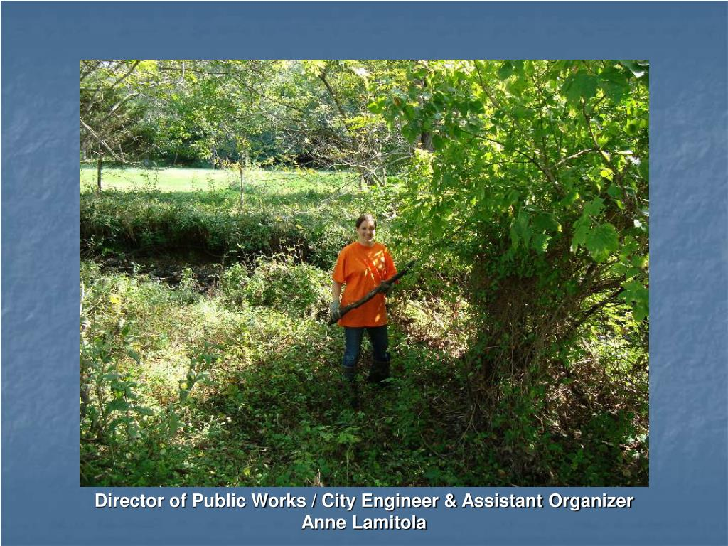 Director of Public Works / City Engineer & Assistant Organizer