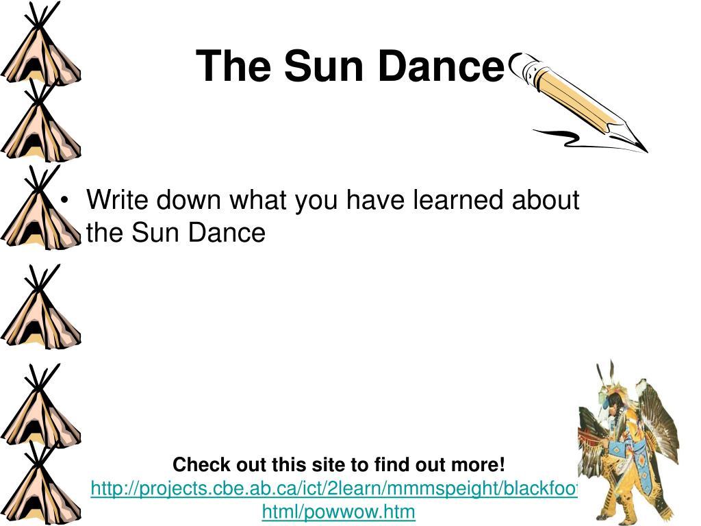 The Sun Dance