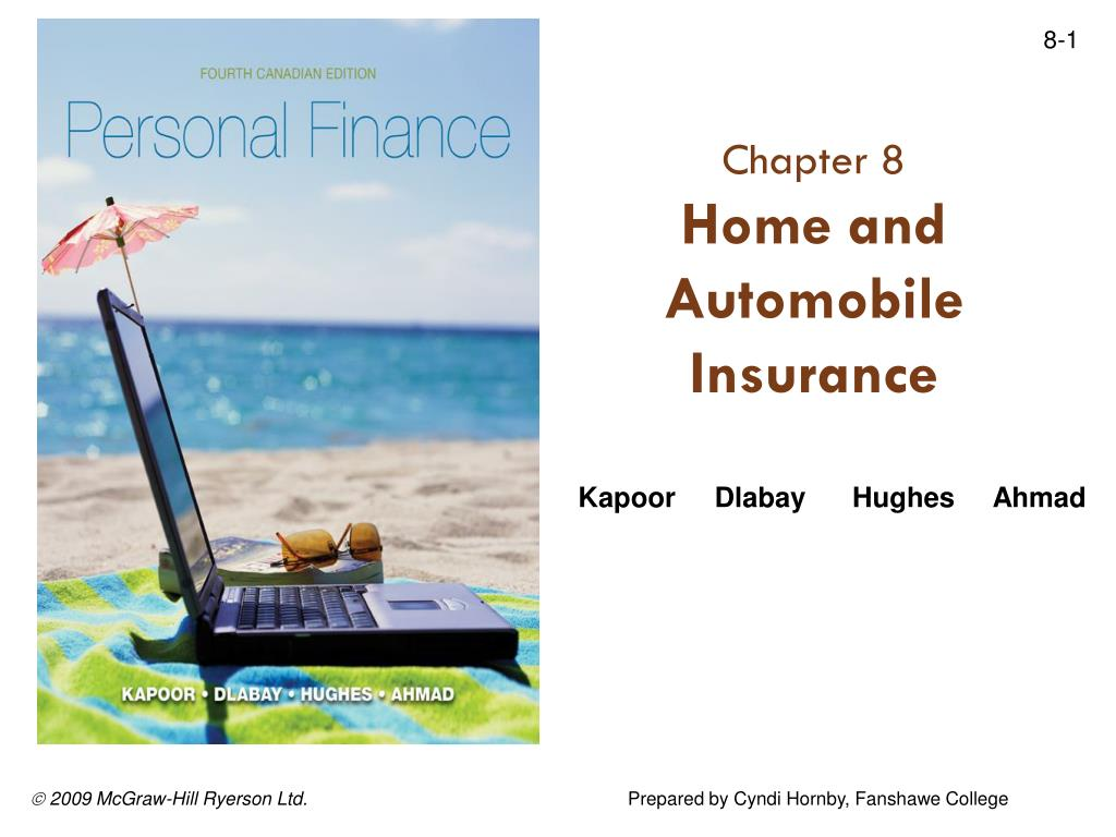 chapter 8 home and automobile insurance l.
