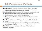 risk management methods8