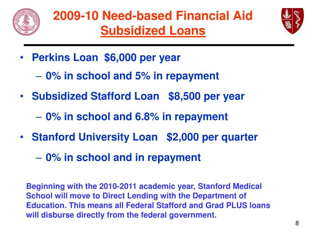 2009-10 Need-based Financial Aid