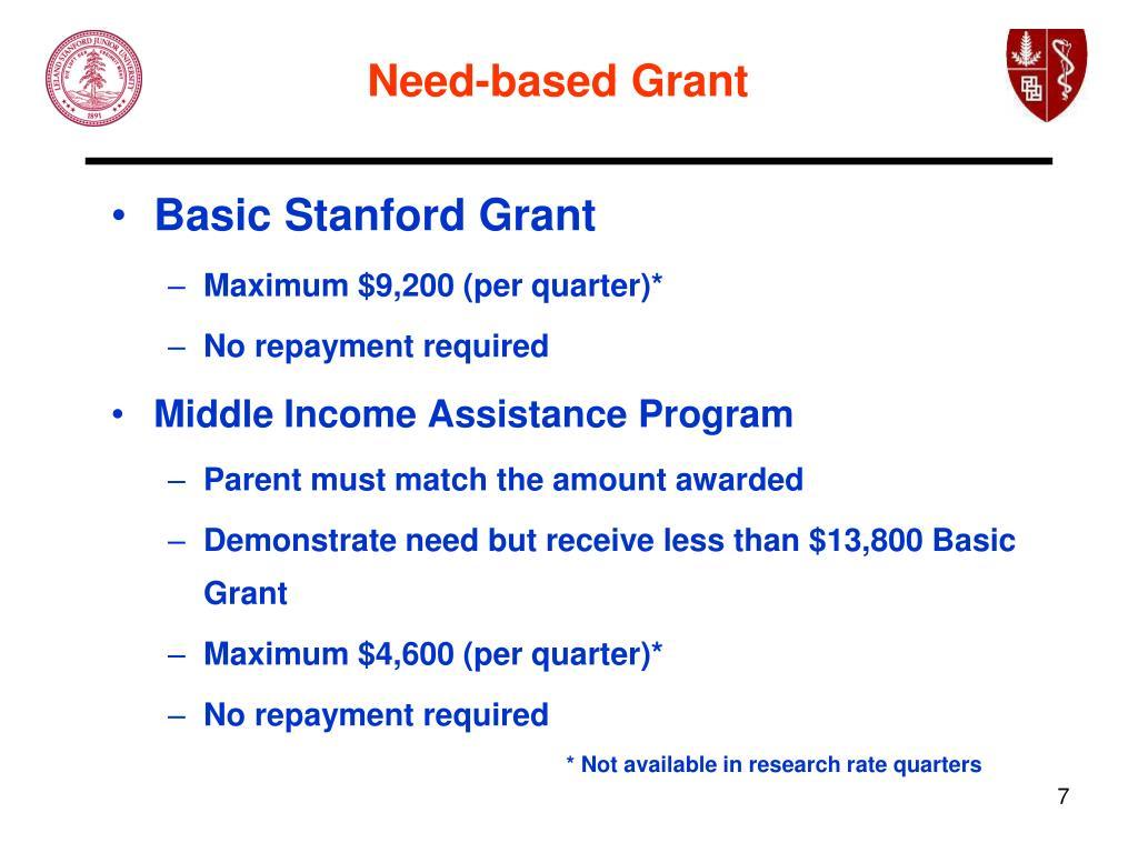 Basic Stanford Grant