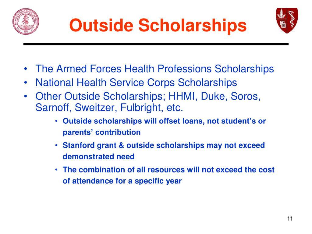 Outside Scholarships