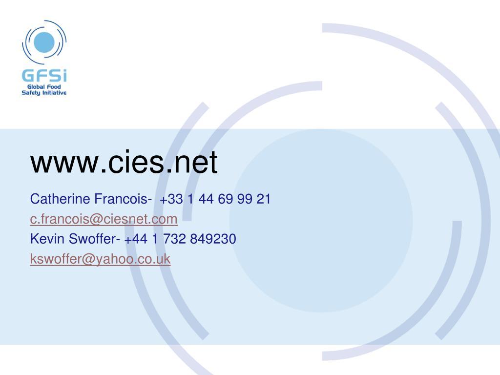 www.cies.net