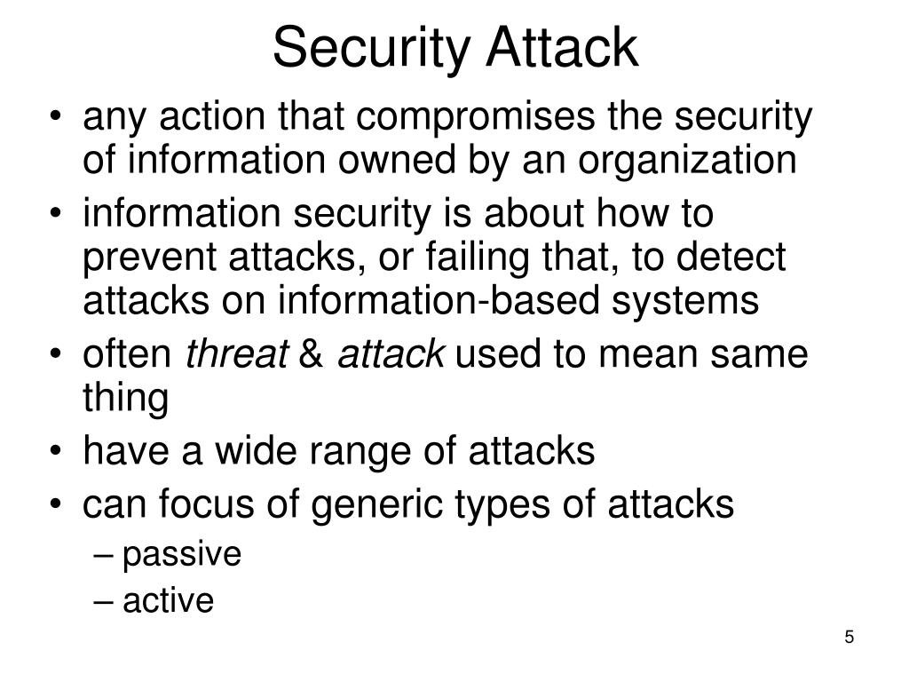 Security Attack