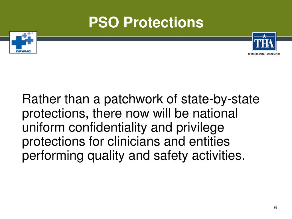 PSO Protections