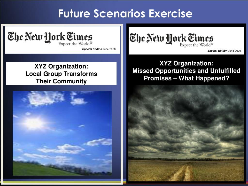 Future Scenarios Exercise