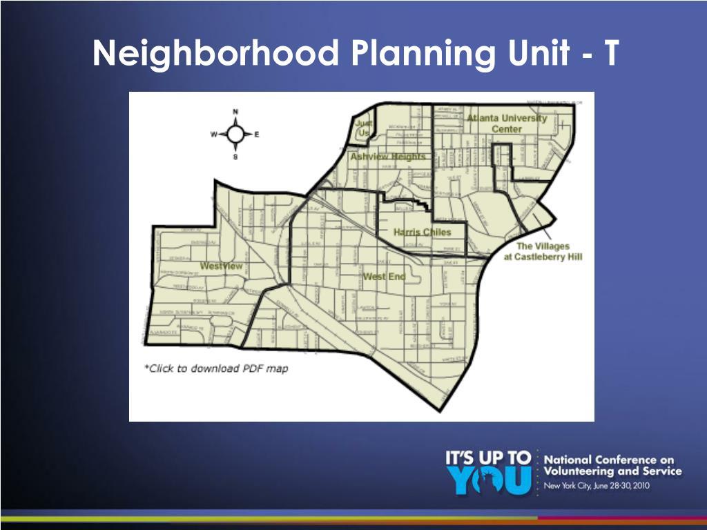 Neighborhood Planning Unit - T