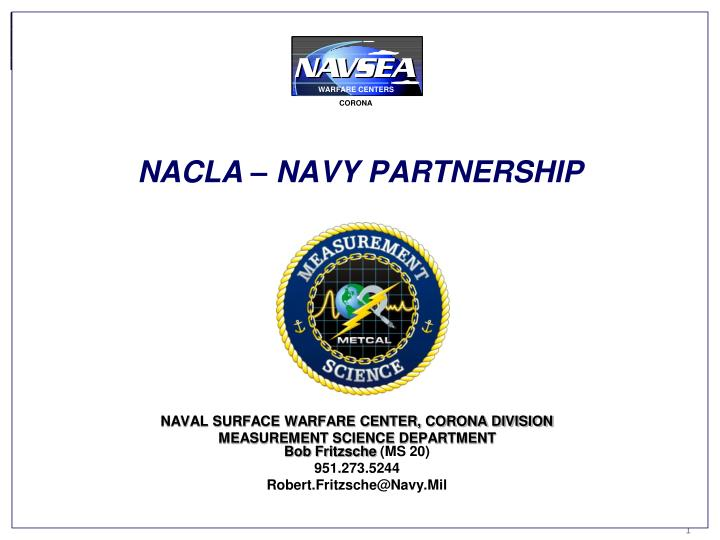 Nacla navy partnership