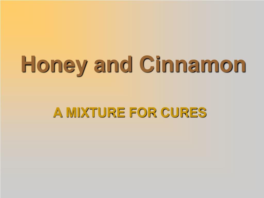 honey and cinnamon l.