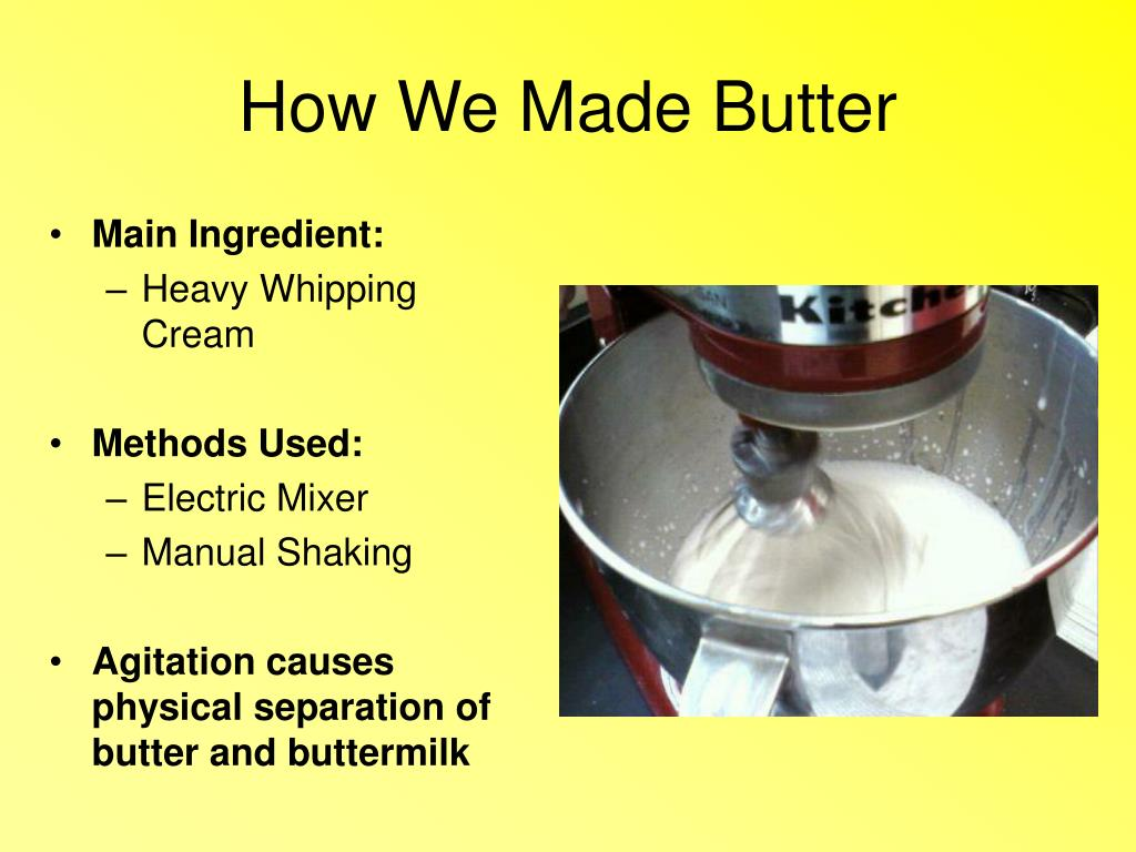 How We Made Butter