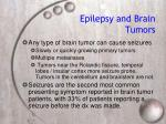 epilepsy and brain tumors