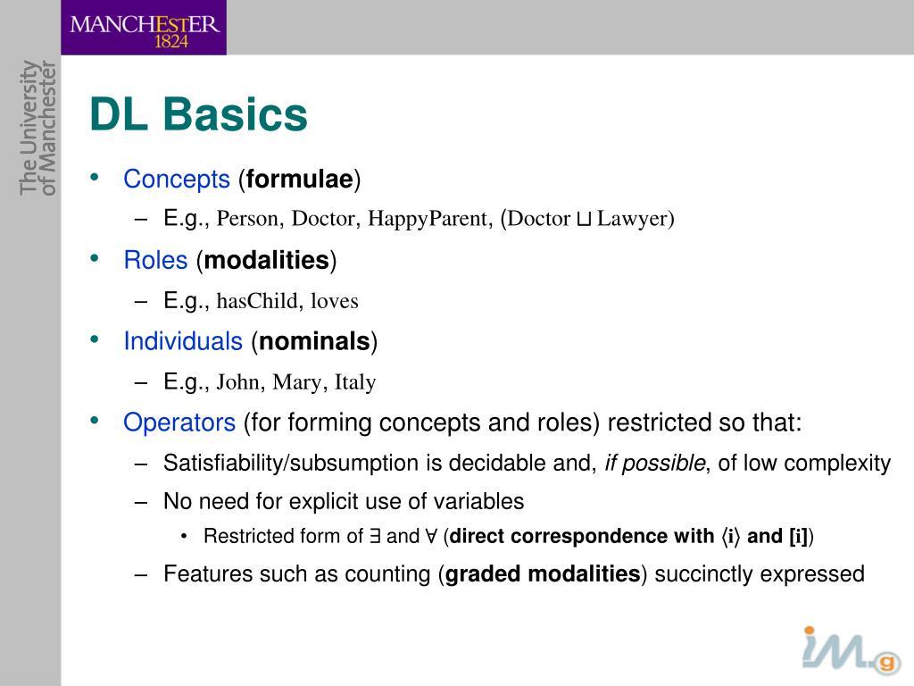 DL Basics