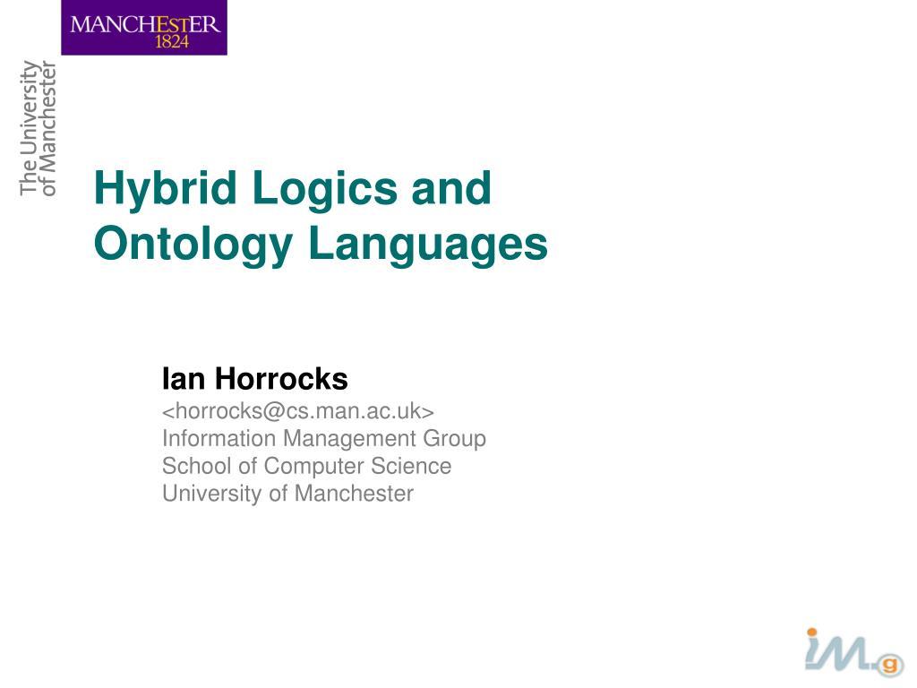 Hybrid Logics and