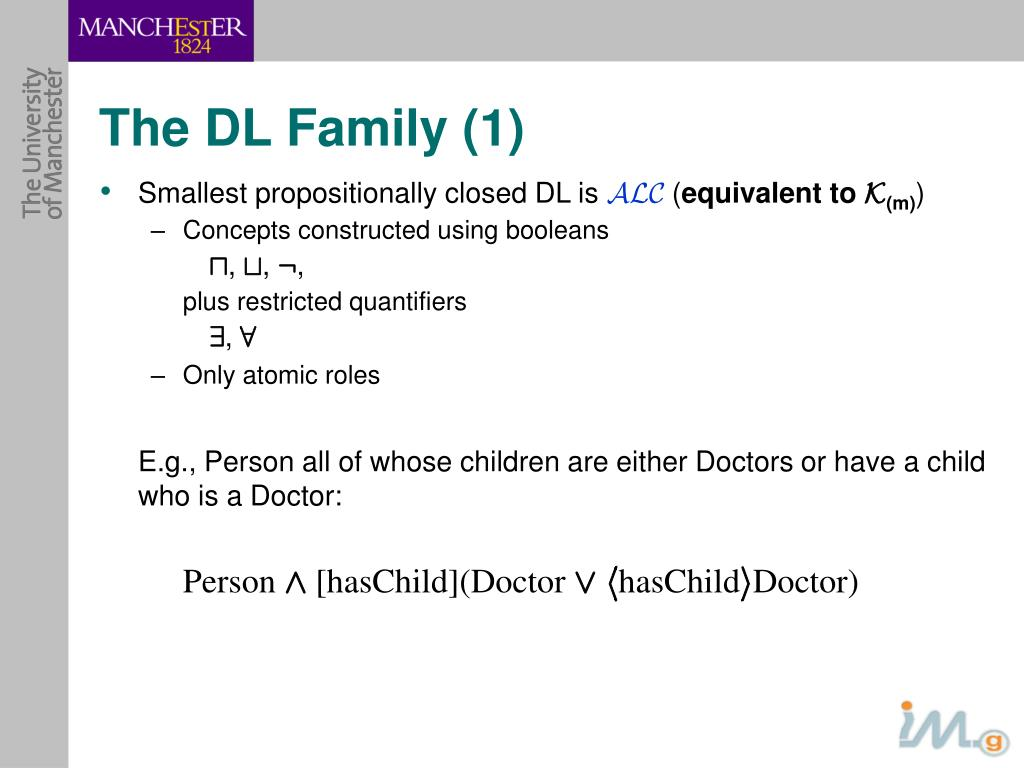 The DL Family (1)