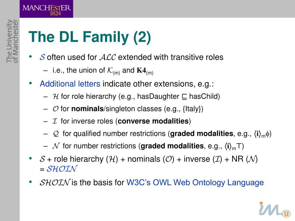 The DL Family (2)