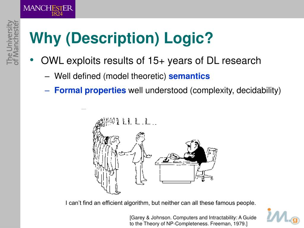 Why (Description) Logic?