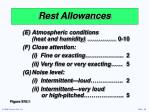 rest allowances16