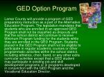 ged option program