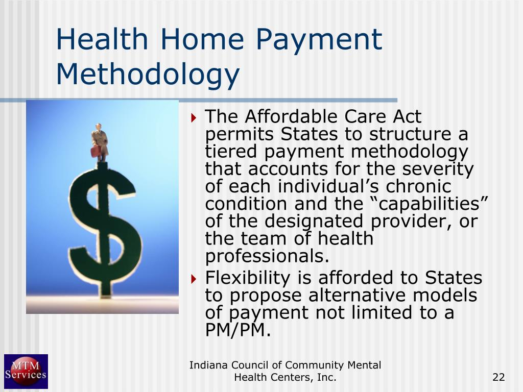 Health Home Payment Methodology