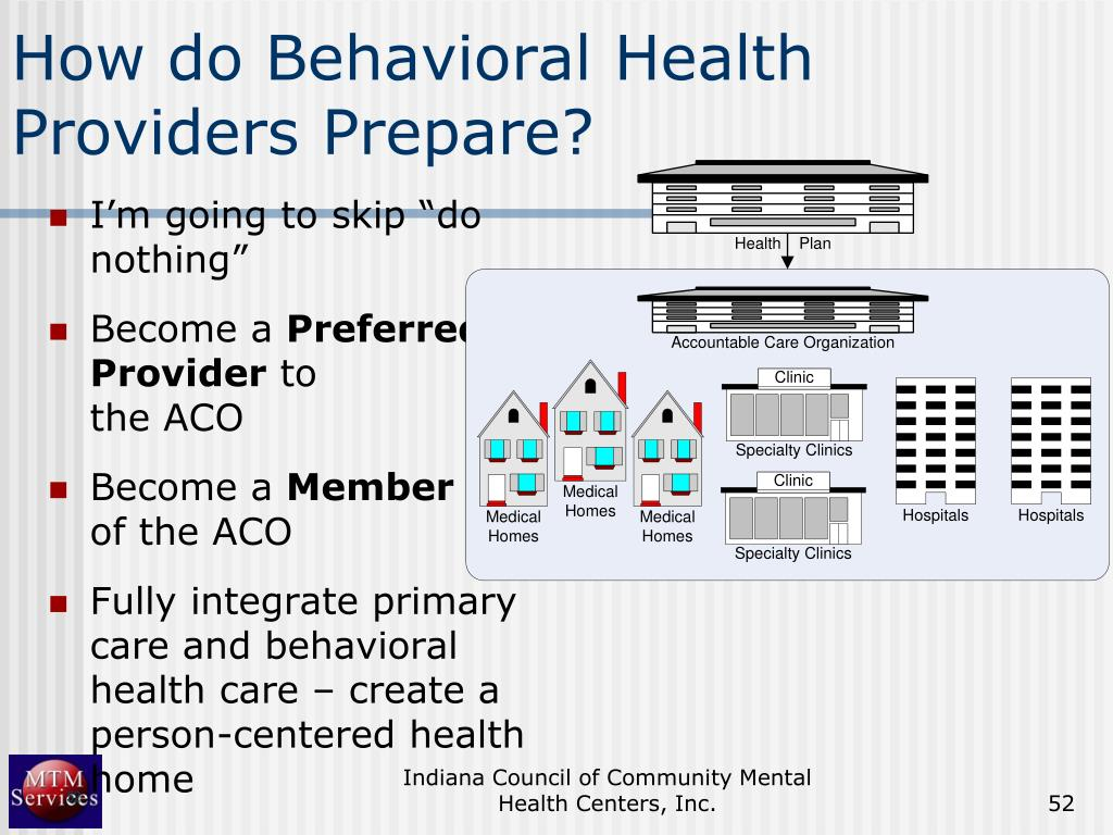 How do Behavioral Health Providers Prepare?