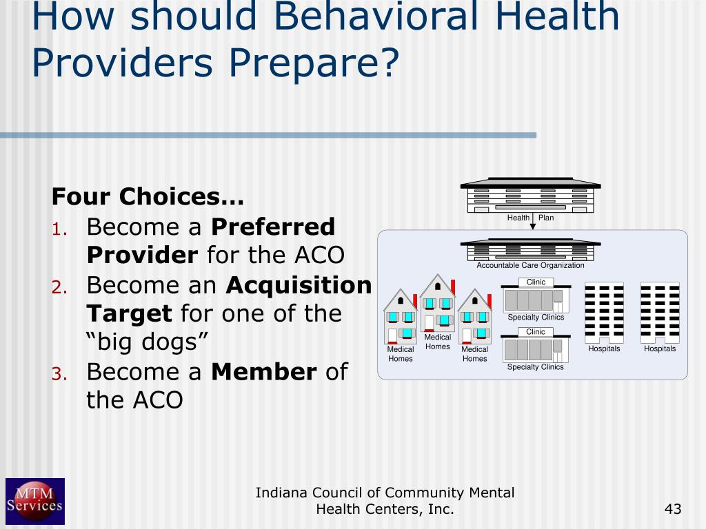 How should Behavioral Health Providers Prepare?