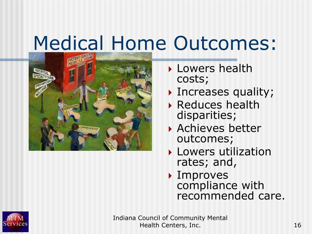 Medical Home Outcomes: