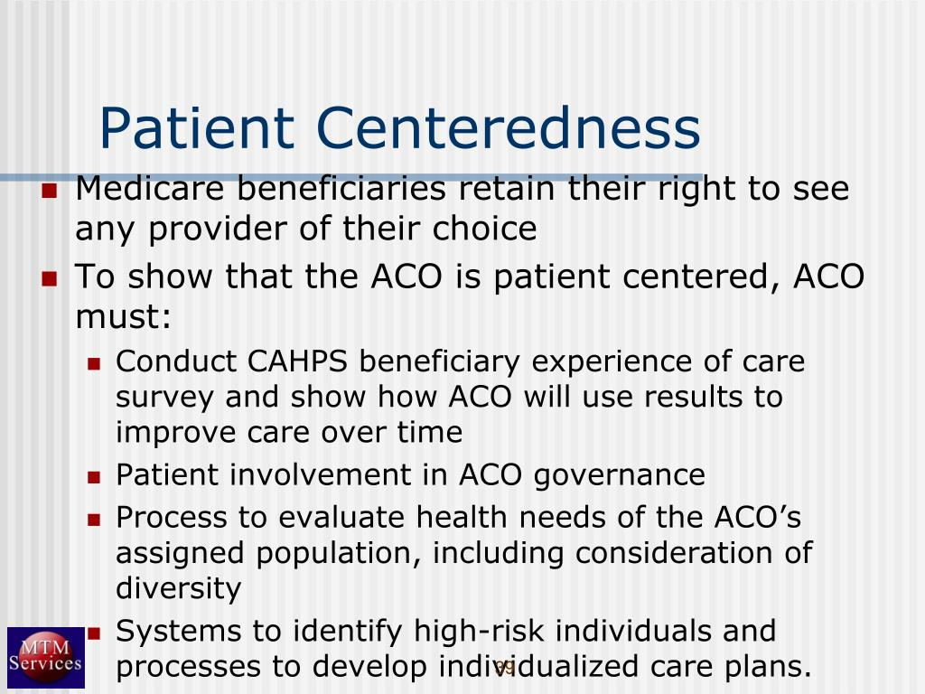 Patient Centeredness
