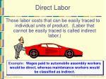 direct labor
